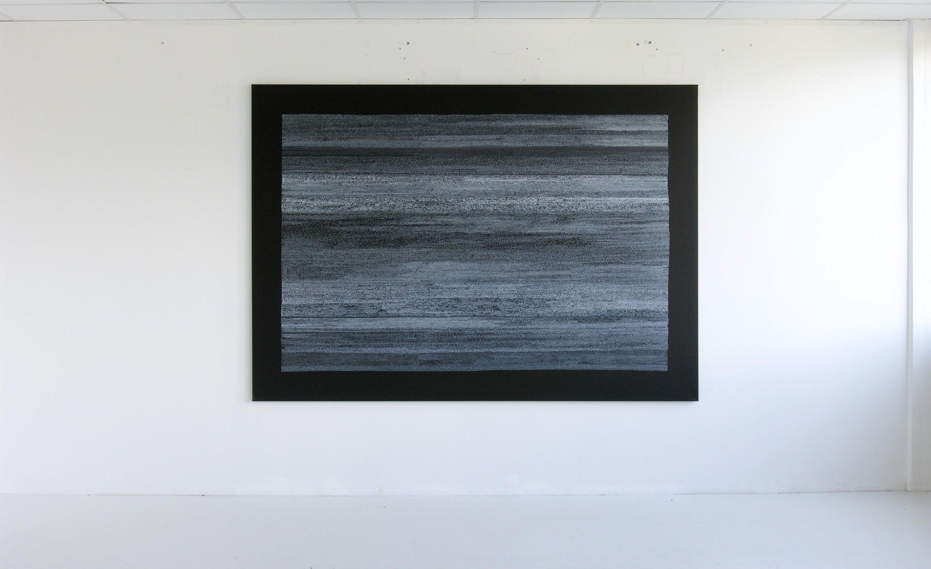 Werk-Nr.995, Acryl auf Leinwand , 180 x 240 cm, 2005