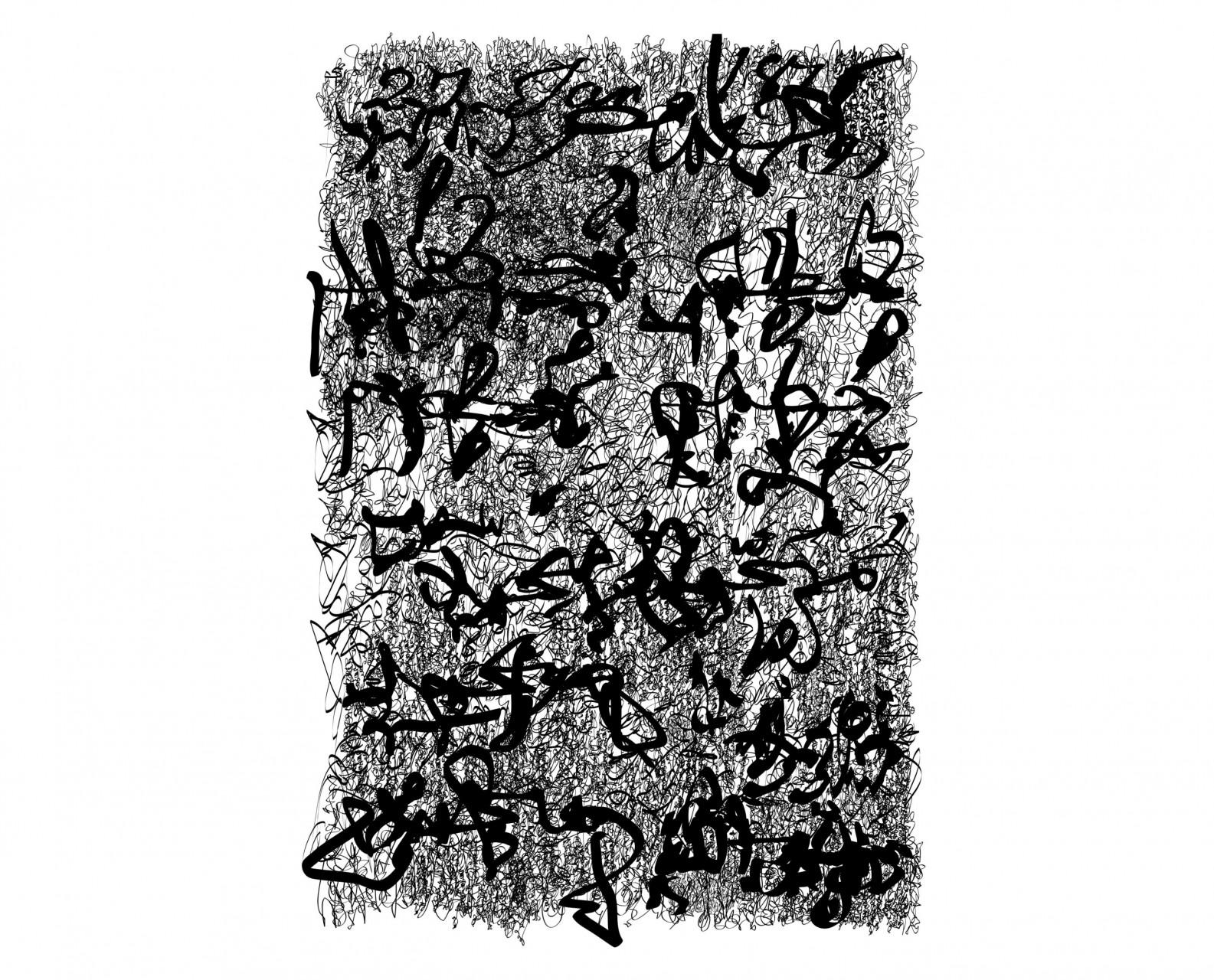 Palimpsest 012, Eco-Solvent Tinte auf LKW-Plane, 137 x 205 cm, 2017