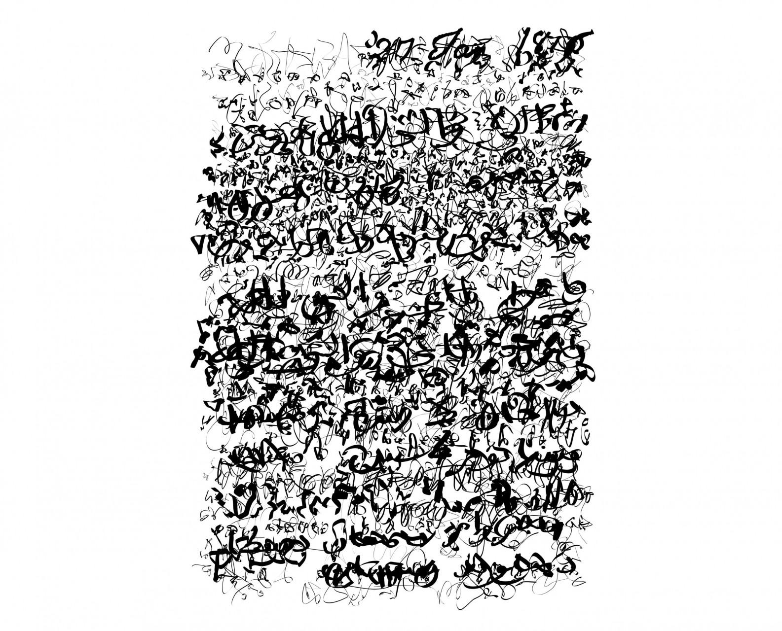 Palimpsest 017, Eco-Solvent Tinte auf LKW-Plane, 137 x 205 cm, 2017