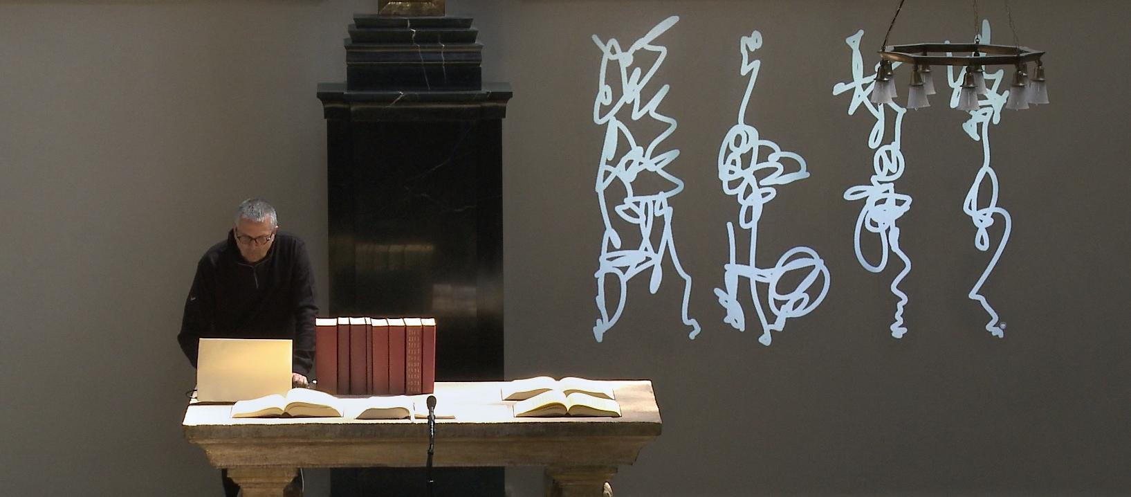 Writing Performance Photo Martin Hildebrandt